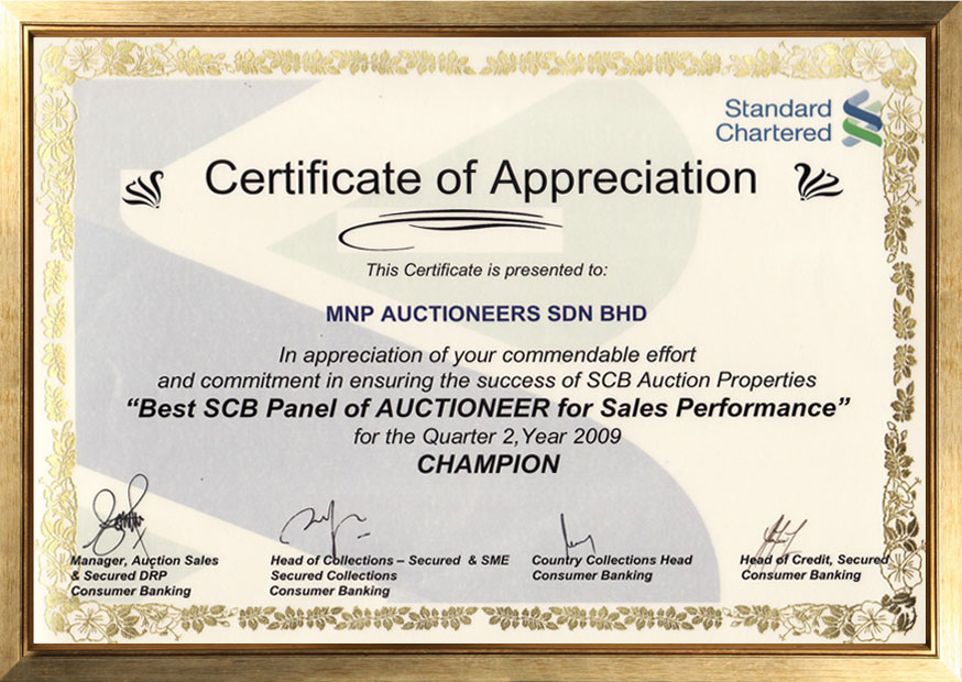 Best SCB Panel of Auctioneer 2009 copy